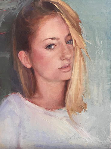 Eva, Eugenia Shapiro, 16x12 Oil