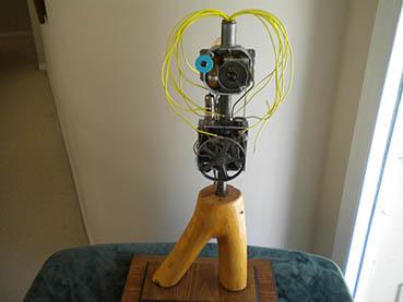 Franken-Alice, Jeffrey Comulada, 15x28x12 3D-assemblage $595
