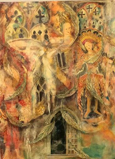 Intentions, Kathleen Draper Garner, 24x30 x2 Acrylic $650
