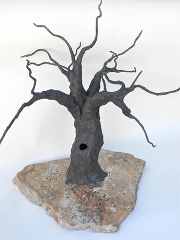Majestic Valley Oak, Idelle Okman Tyzbir, 24x24x24 Steel $1,250