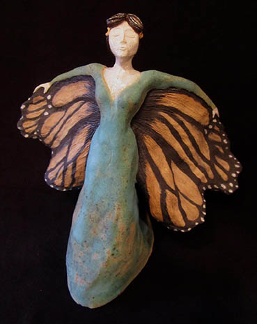 Spirit of Amelia, Traci Gunn, 10x10x6 Clay $750
