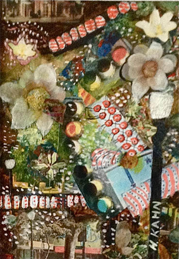 WildCityNights.jpg, Harriette Kahn, 7x5 Collage $325