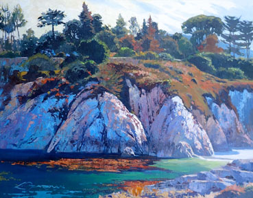 The Cove, Lynne Fearman, 16x20 Oil $1,300