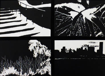 Around the World, Barbara Tabachnick, 13x18 Etchings $500