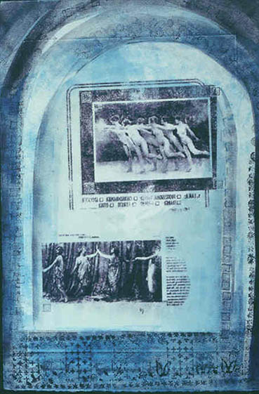 Freedom Fighters, Sylvia H Goulden, 22x15 Monoprint $550