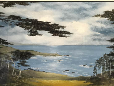 Point Lobos 1, Bob Ritterbush, 18x24 Oil $600