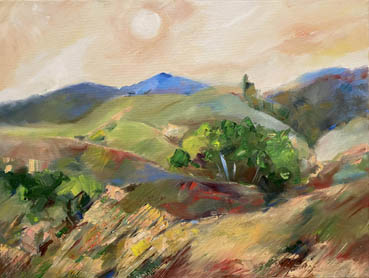 Sun Wind Light, Alexandra Tarakanov, 18x24 Oil $850