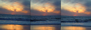 SUNSET- A SLIGHT MOVEMENT OF WAVES, Joanne Chase-Mattillo,  Photography