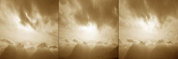 THE MOVEMENT OF CLOUDS, Joanne Chase-Mattillo, 12x36 Photography
